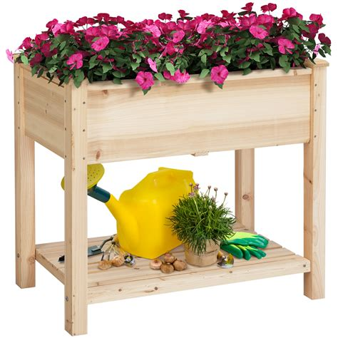 Garden Box With Legs Plans For Retirement