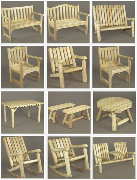 Garden Furniture Drawings