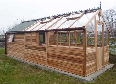 Garden Greenhouse Design Plans