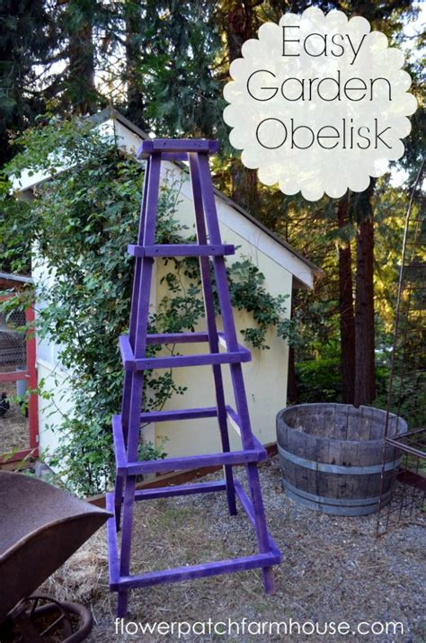 Garden Obelisk Plans Diy Smelting