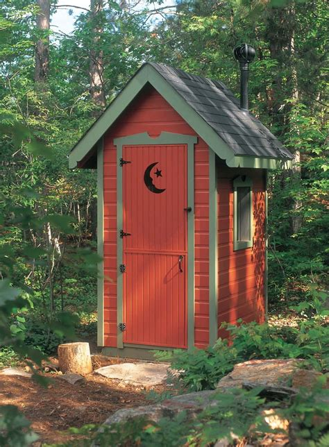 Garden Outhouse Shed Plans
