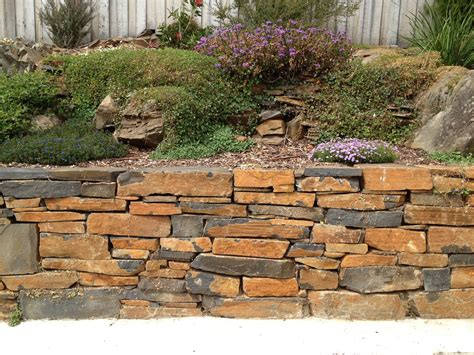 Garden Retaining Wall Stone Is Crumbling