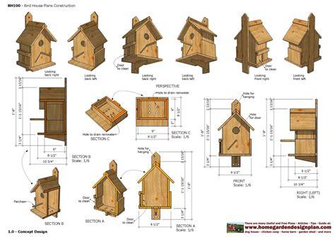 Garden-Birdhouse-Plans
