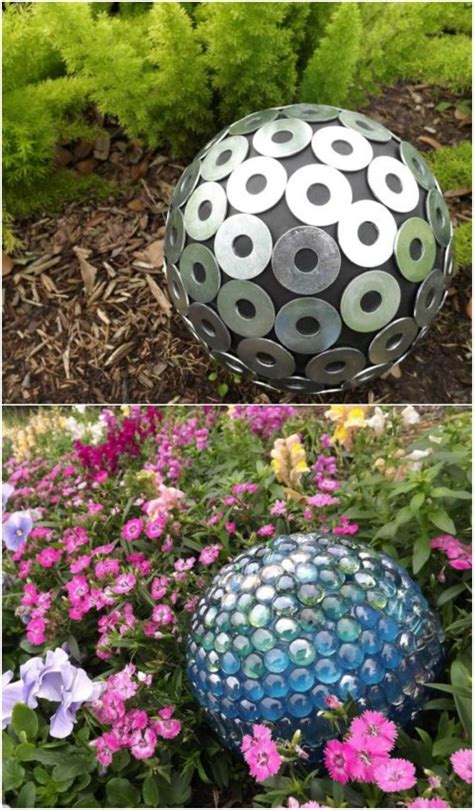 Garden-Gazing-Ball-Diy