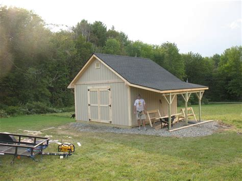 Garden-Shed-With-Overhang-Plans