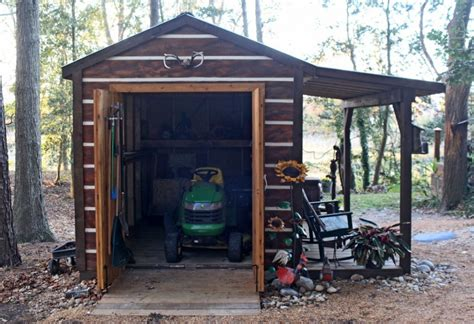 Garden-Tractor-Shed-Plans