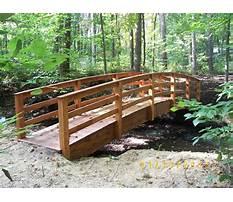 Best Garden arch bridge design