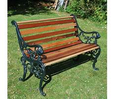 Best Garden bench cast iron
