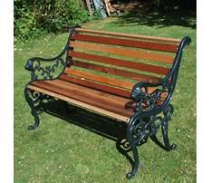 Best Garden benches cast iron