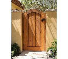 Best Garden gates wood
