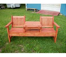Best Garden tables and benches