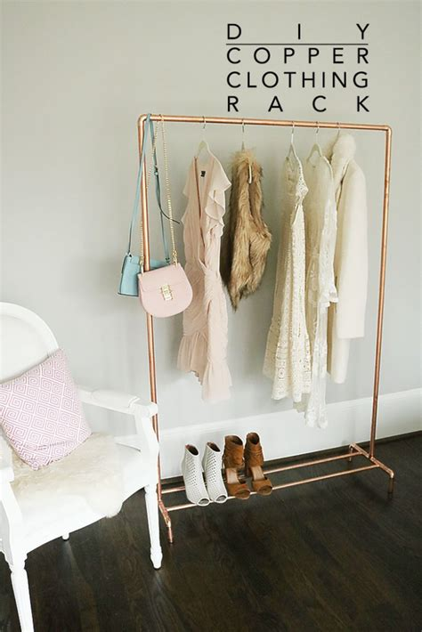 Garment Rack Pipe Diy Ideas
