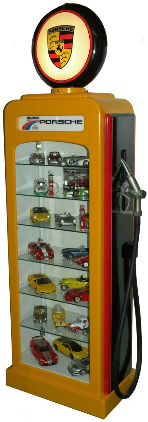 Gas Pump Display Case Plans
