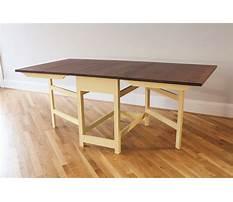 Best Gate leg table plans