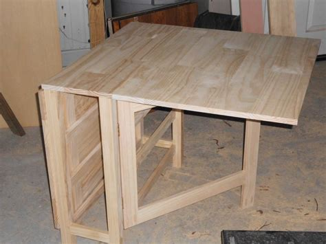 Gateleg table plans Image