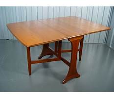 Best Gateleg table plans