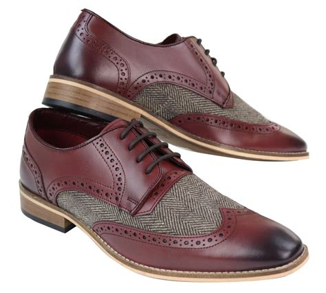Gatsby Leather Mens Brogue Shoes