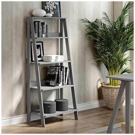 Gauck Contemporary Style Ladder Bookcase