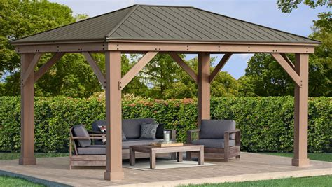 Gazebo With Roof Plans