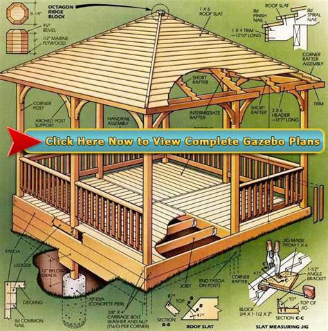 Gazebo Woodworking Plans Pdf