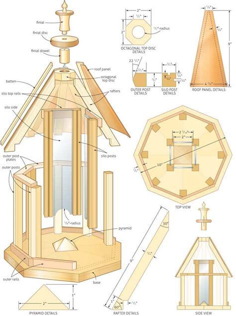 Gazebo-Bird-Feeder-Woodworking-Plans