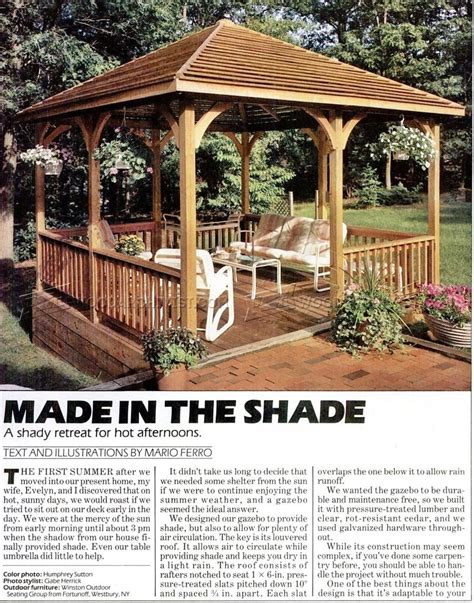 Gazebo-Plans-Woodworking-Plans