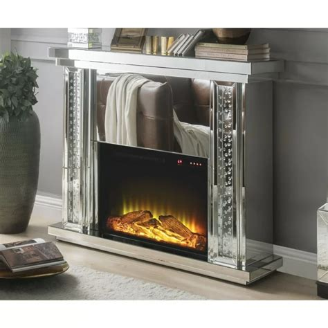 Gean Electric Fireplace By Everly Quinn