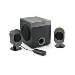 Gear Head, SP3750ACB 2.1 Speaker System, 16 W RMS ( 20 PACK ) BY NETCNA