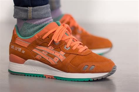 Gel Lyte III in Fresh Salmon by