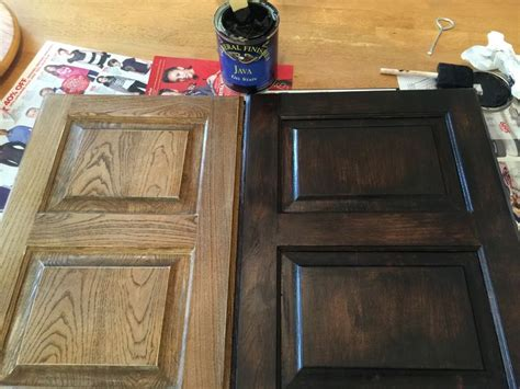 Gel Stain On Maple Cabinets