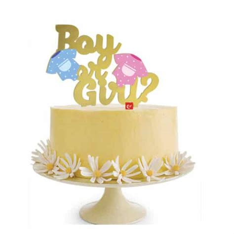 Gender Reveal Cake Topper Nz And Gender Reveal Cakes Raleigh Nc