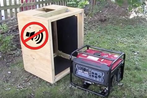 Generator Sound Box DIY For Camping