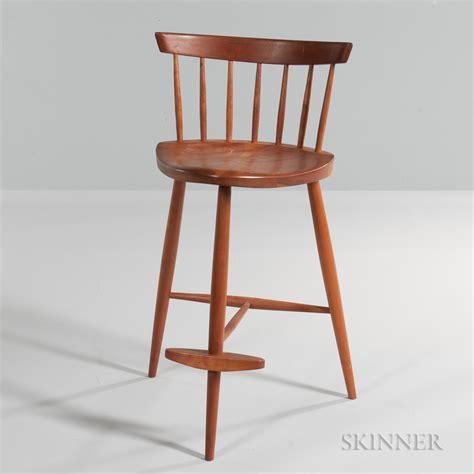 George-Nakashima-Woodworker-Stools