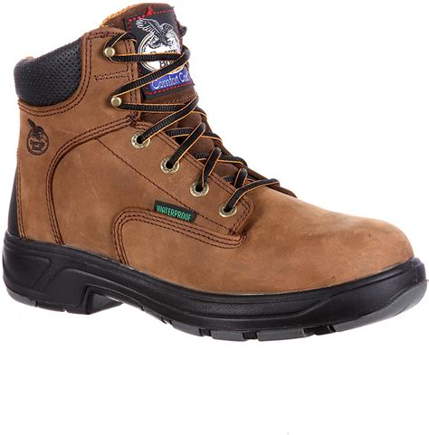 Georgia 6' FLXpoint Waterproof Composite Toe ST Work Boot-G6644 (W9)