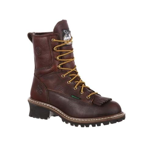 Georgia Men's 8' Steel Toe Waterproof Logger Boot-G7313