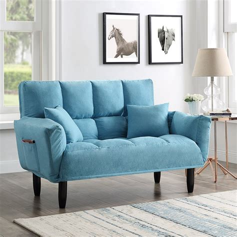 Get Blue Sleeper Sofa