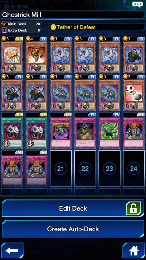 Ghostrick Deck Builds