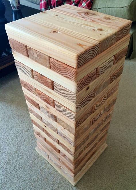 Giant Jenga Diy Wood