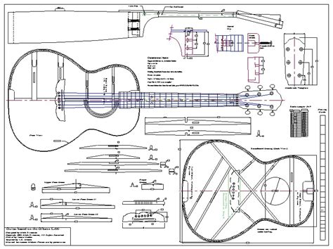Gibson L 00 Guitar Plans