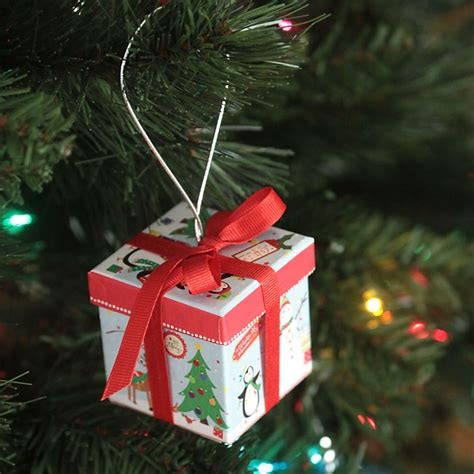 Gift Box Ornaments Diy Ideas