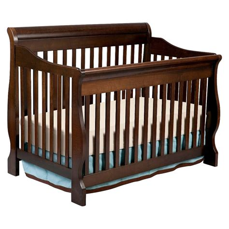 Giggles Espresso Wooden Crib Plans
