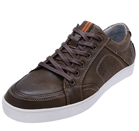 Gilford Brown Leather Men's Lace up casual Shoes