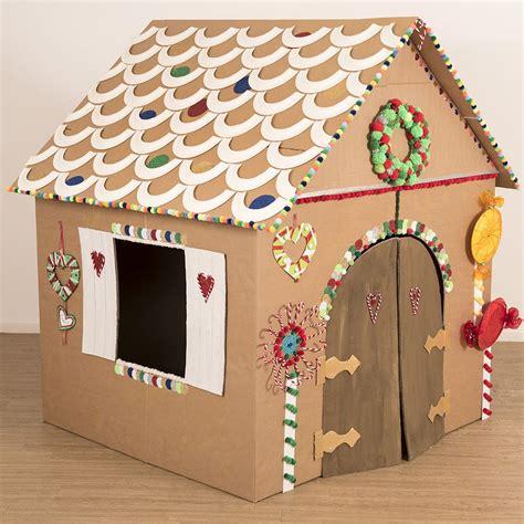 Gingerbread-House-Cardboard-Box-Diy
