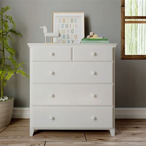 Ginny 5 Drawer Chest By Harriet Bee