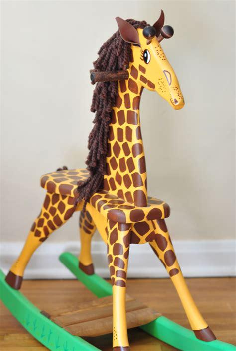 Giraffe-Rocking-Horse-Plans