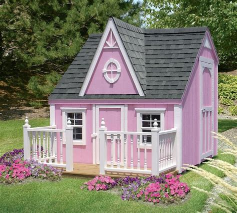 Girls Backyard Playhouse Plans