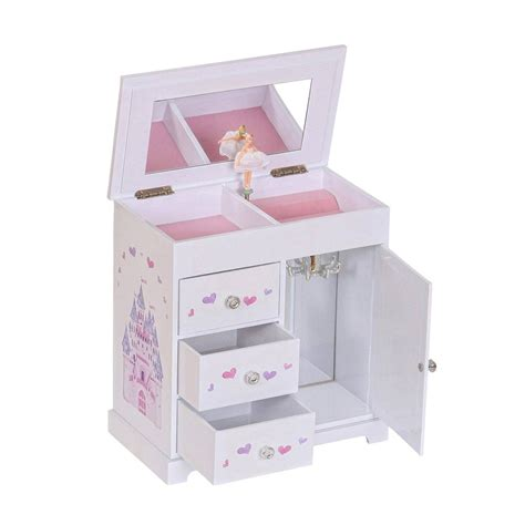 Girls Music Jewelry Box