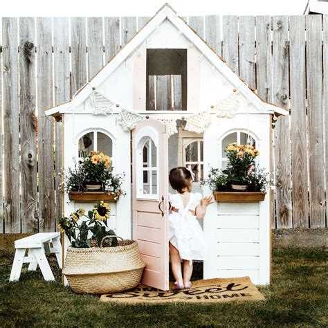 Girls Playhouse Building Plans