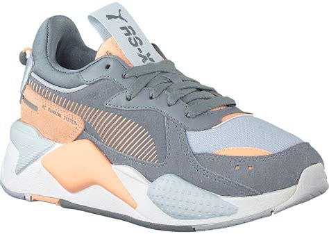 Girls Puma Gray Sneakers