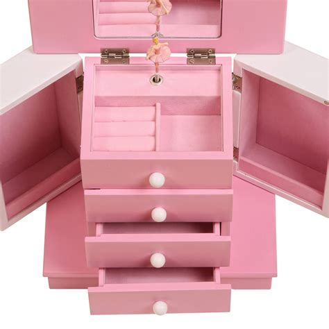 Girls wooden jewelry box Image